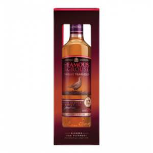 The Famous Grouse 12 Years Old whisky 0,7l   p.díszdoboz