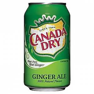 Canada Dry 0,33l CAN