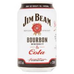 Jim Beam Cola 0,33l CAN