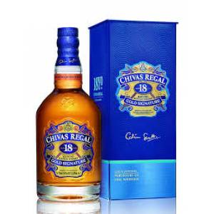 Chivas Regal 18 éves 0,7l PDD.