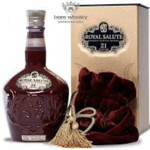 Chivar Regal Royal Salute 21 éves 0,7l PDD. (Bordó)