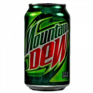 Mountain Dew ZERO 0,33l CAN