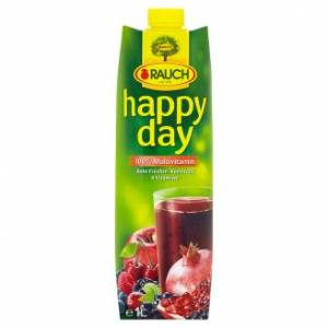 Happy Day Multivitamin Piros 100%  1l