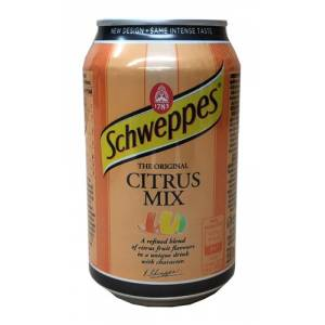Schweppes Citrus Mix 0,33l CAN
