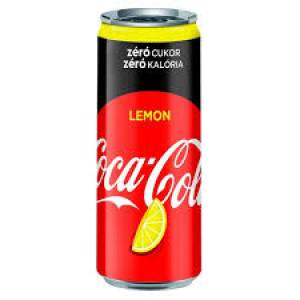Coca Cola ZERO Citrom 0,33l CAN